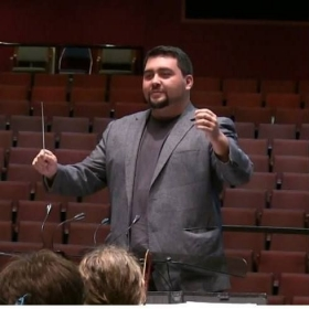 "Rehearsing with the University of South Carolina Symphony Orchestra for the ""John Williams Extravoganza"". Fall, 2015."