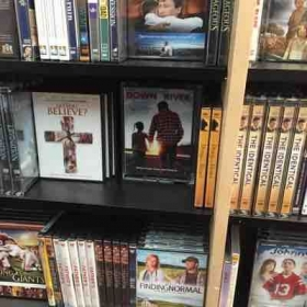 "My film ""Down By The River"" in stores on the shelf."