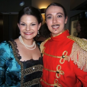 Lori as Prince Orlofsky in Strauss' Die Fledermaus