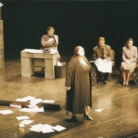 as Magda Sorel in Menotti's The Consul