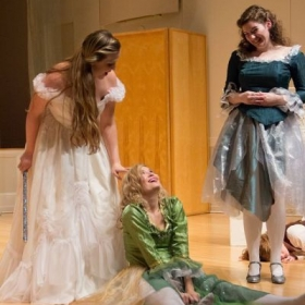 Performing in an opera scenes program with the University of Oregon Opera Ensemble