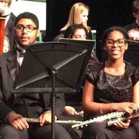 Junior year District 6 Honor Band at the Henry County Performing Arts Center