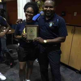 Southern University A&M Outstanding Performance Award