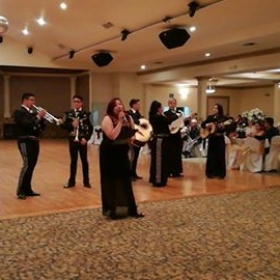 Singing with the Mariachi, in Juarez Mexico.