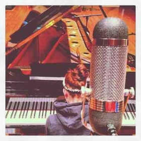 Recording a demo at Wilson Hall