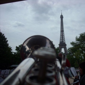 Serenading the Eiffel Tower