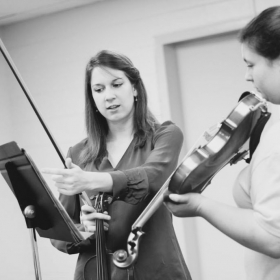 Teaching at a Strings Summer Camp