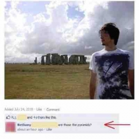 Can you explain the comment? Tip: Visual literacy.