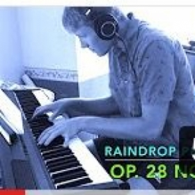 A little thumbnail from my most recent recording of the Raindrop Prelude