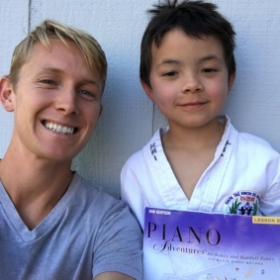Meet Kai a karate loving pianist from my studio in Napa!