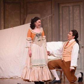 Katie as Susanna in Le nozze di Figaro