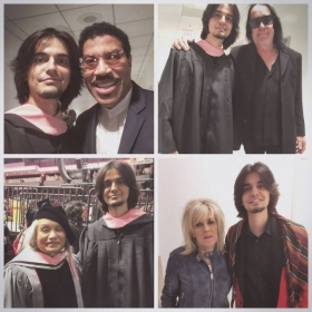 Lionel Richie, Todd Rundgren, Shin Joong Hyun and Lucinda Williams