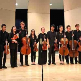 After my performance of Mendelssohn's String Octet with my colleagues from CSULB