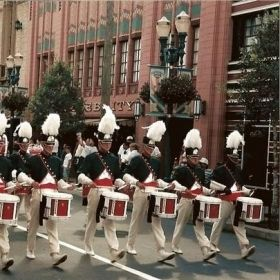 With the Spirit of Atlanta Drum & Bugle corps 1997