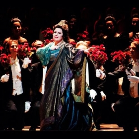 As Elena in Mefistofele with the San Francisco Opera