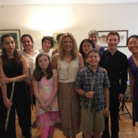 June 25, 2017 Flute Recital at my home in Windsor Terrace, Brooklyn, NY
