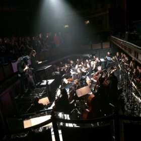 """Live onstage with Dream Theater at the Boston Opera House, filming """"Breaking the Fourth Wall"""""""
