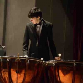 Playing Timpani