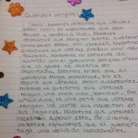 An example of student work as we learn the subjunctive tense and review the future.