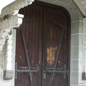 Doors in Lausanne, Switzerland