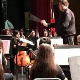 Conducting a High School Non-Varsity Orchestra - Fall 2016