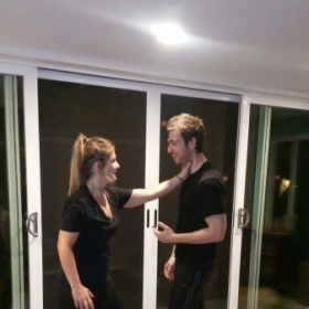 In home women's self-defense