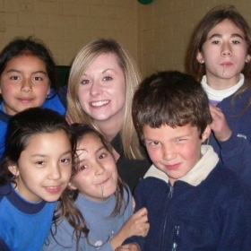 A great group of students in rural Chile.