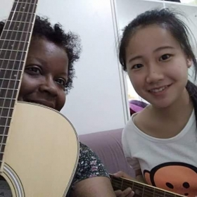 My student Lily, in China.