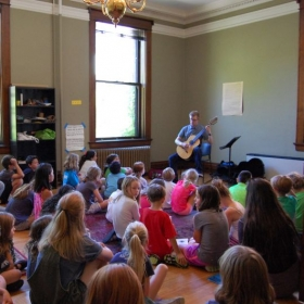 Classical Guitar Showcase at the 2016 Saint Paul Conservatory of Music Summer Camp