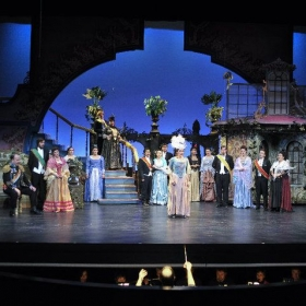 Photo from The Merry Widow with Townsend Opera