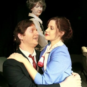 Photo was a promotional picture for Theater Southwest production of Boeing Boeing.