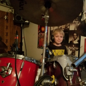 Playing & teaching multiple instruments, like the drums, helps keep the saw sharp. Plus Gabe says it's a TON OF FUN!