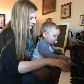 It's never too early to instill a love of Music in a child! :)