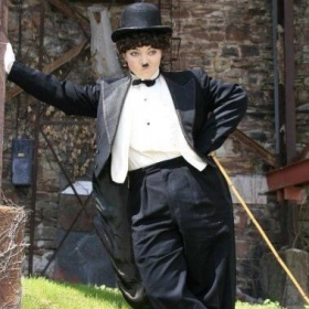 Charlie Chaplin look alike for theatre