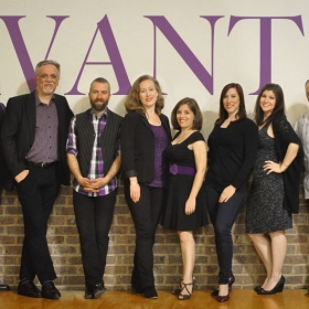 "Vocal Jazz A Cappella group, Avante.  Our debut album, ""Mackie's Back"", was nominated for a CASA award."