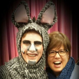 A fantastic musical of Shriek. I coached the donkey! How fun that was!