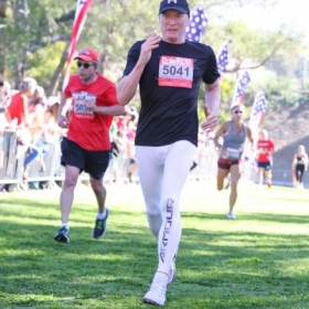 Second place in age group 5K Agoura Hills CA