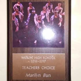 🏆💃 Teacher's Choice Dance Award!