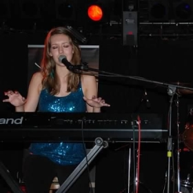 Performing at the Indie Music Channel Revolution Tour in Rochester, NY