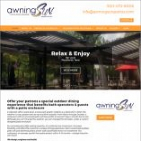 Awning Sun Home page - After redesign