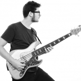Me with my 5 string jazz bass!
