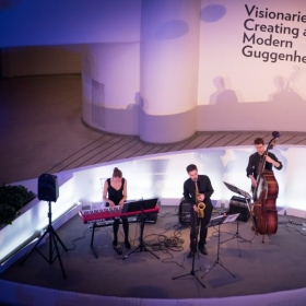 The Summer Ludlow Trio at the Guggenheim Museum, NYC.