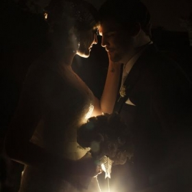 Using ambient lighting to create moods...one from a wedding in Lima, Peru.