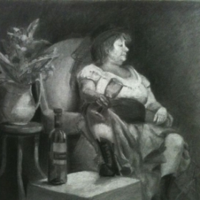 Charcoal Figure Drawing