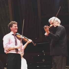 From a Masterclass With Pinchas Zukerman