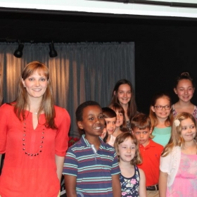 Me and some of my 2016 students at our final Spring recital!