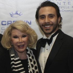 From one of Joan Rivers' final performances as her pianist
