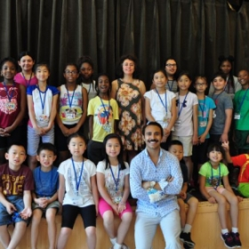 Leading a summer music camp in New York City