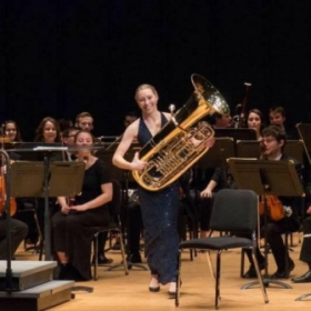 University of Connecticut Solo Competition Winner performance, 2015