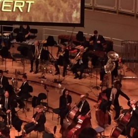 subbing in on second trombone in the Chicago Symphony